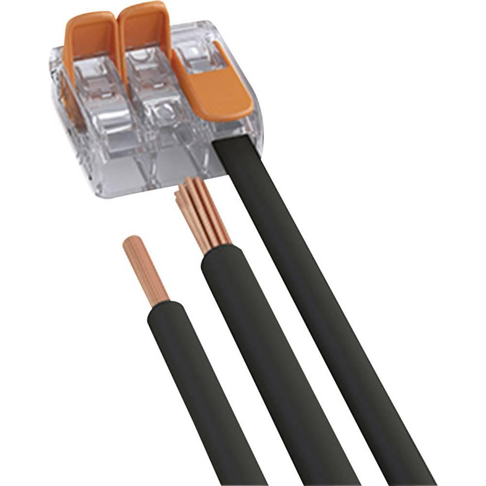 kabelov svorka wago 221 415 pro kabel o rozm ru mm p l 5 1 ks transparentn. Black Bedroom Furniture Sets. Home Design Ideas