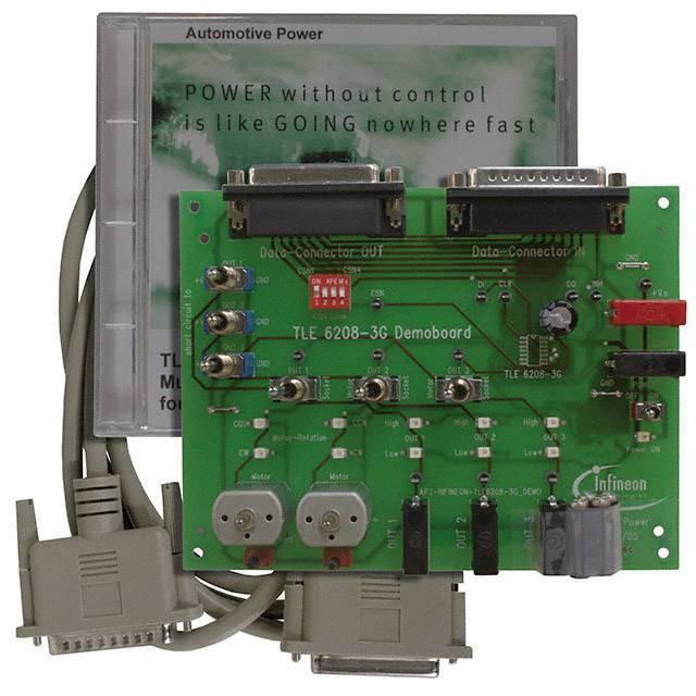 Vývojová deska Infineon Technologies DEMOBOARD TLE 6208-3G