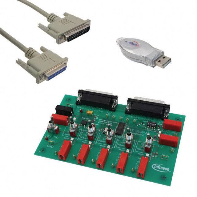 Vývojová deska Infineon Technologies DEMOBOARD TLE 6208-6G