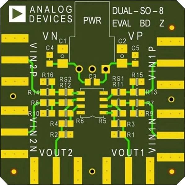 Deska (neosazená) Analog Devices AD8072JR-EBZ