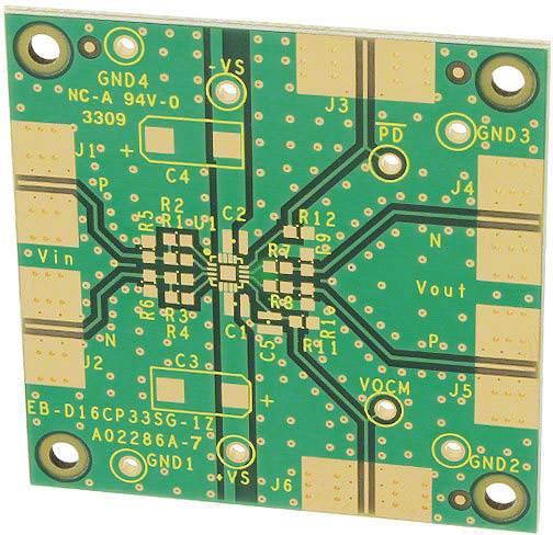 Deska (neosazená) Analog Devices ADA4950-1YCP-EBZ