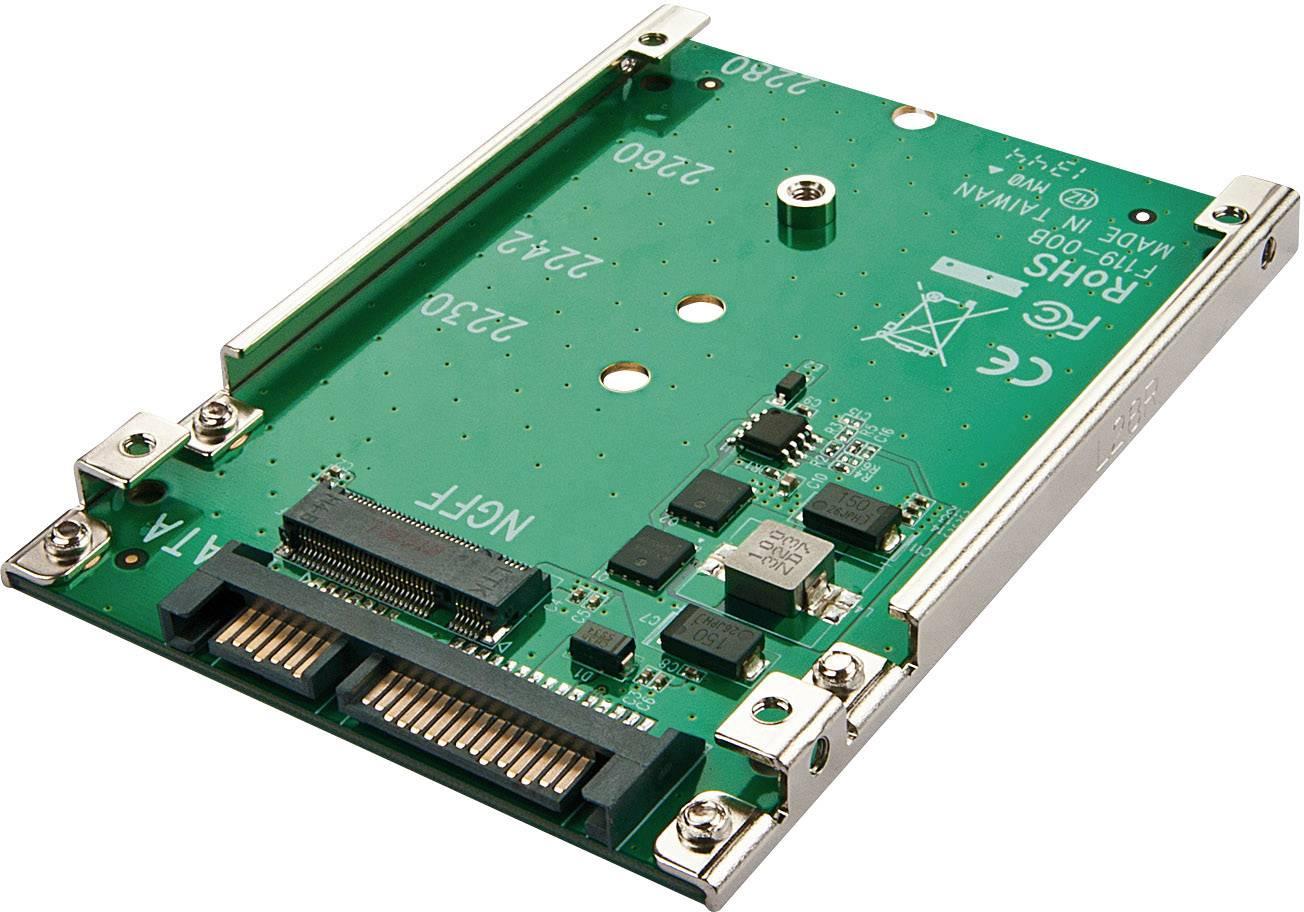 Konvertor rozhrania Renkforce 28554C167 RF-2384498, [1x kombinovaná SATA zástrčka 15+7-pólová - 1x ]