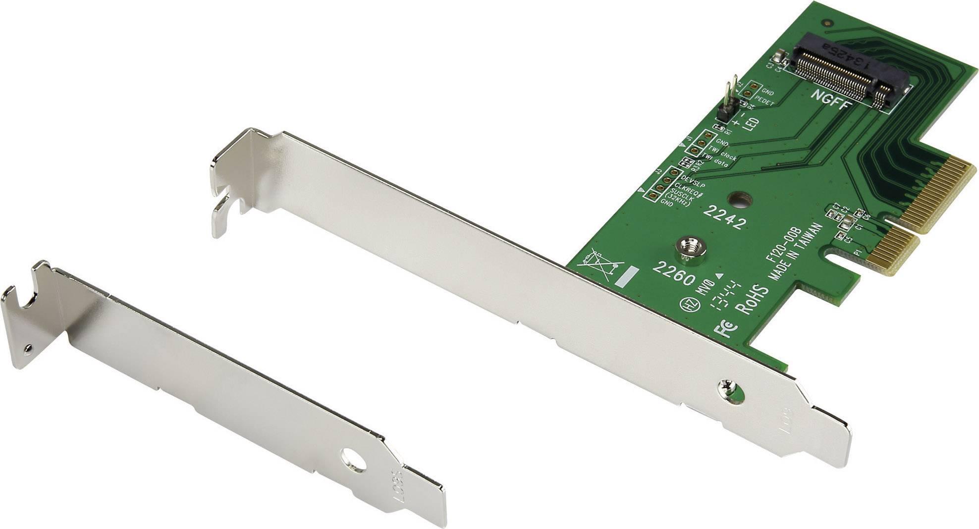 Konvertor rozhrania Renkforce 28554C168 RF-2384500, [1x PCI-Express - 1x ]