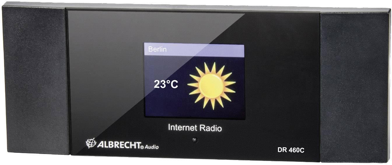 Internetové rádio Albrecht DR 460-C, bez reproduktoru, s cinch výstupem