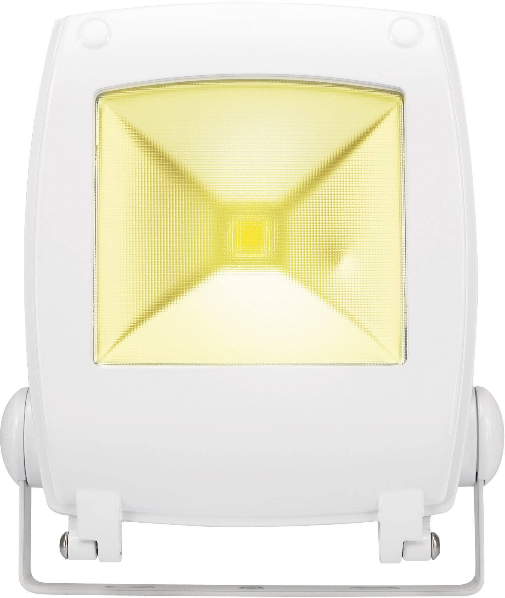 LEDvonkajšieosvetlenie Renkforce SPC10H2 KW, 10 W, chladná biela, biela