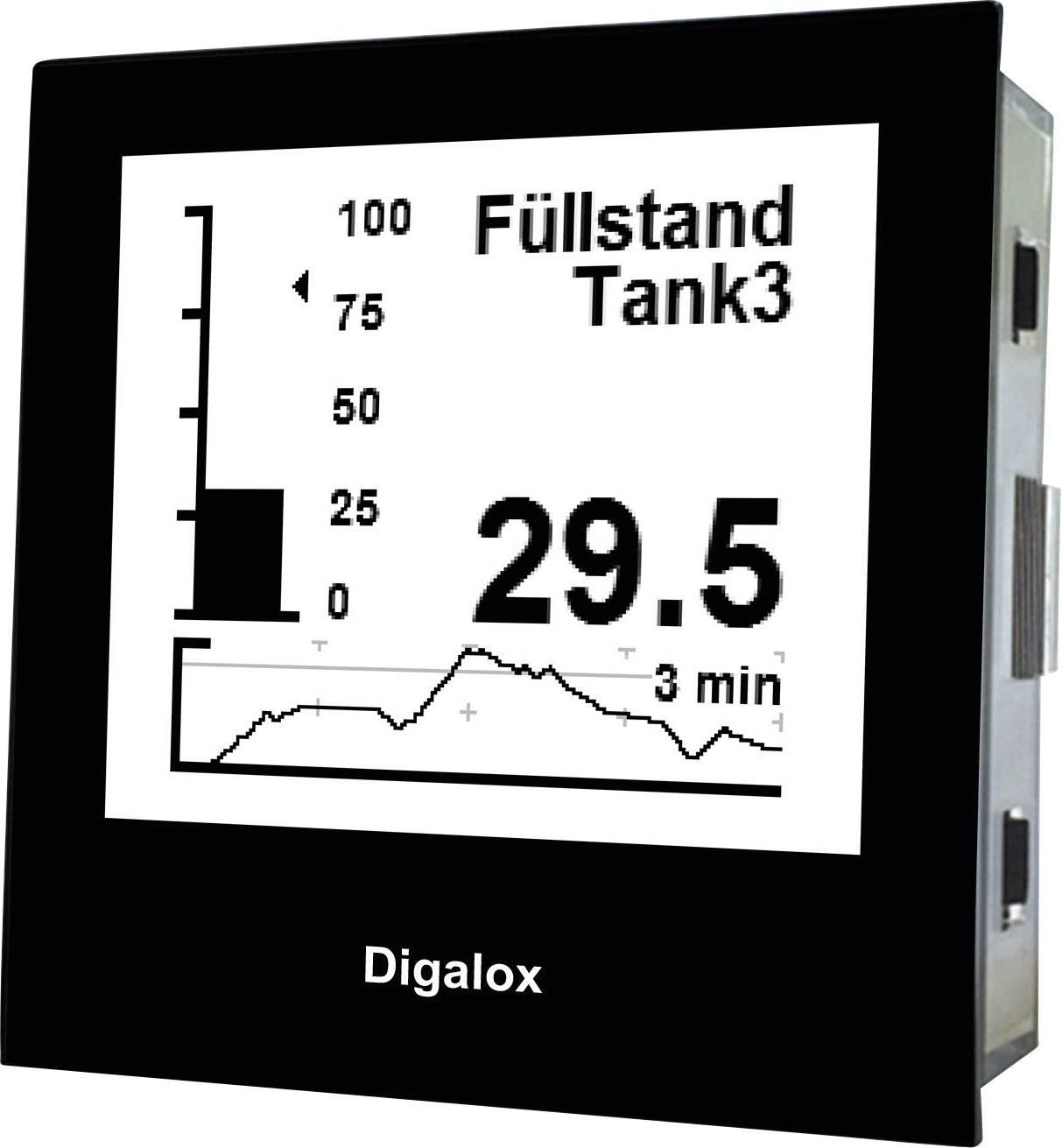 Digitálny panelový merač s USB TDE Instruments Digalox DPM72-PP 101400