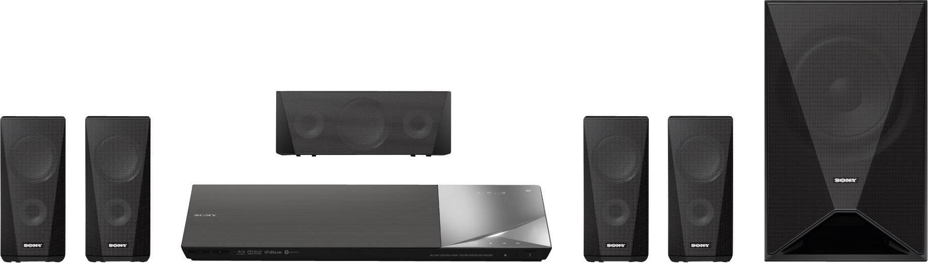 5.1 systém domácího kina s 3D Blu-ray Sony BDV-N5200W 1000 W černá