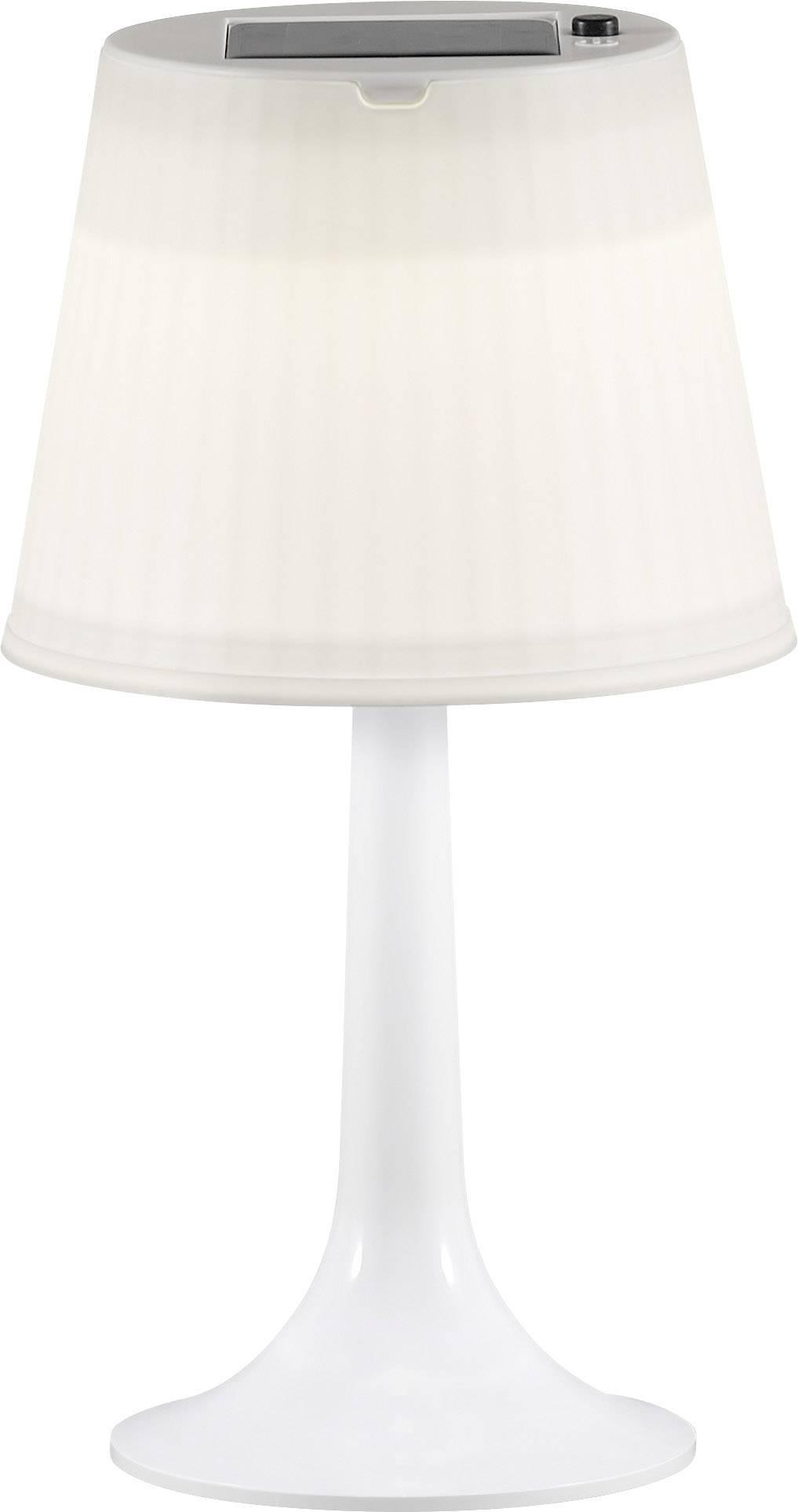 Solární stolní lampa 0.5 W neutrálně bílá Konstsmide Assis Sitra 7109-202 bílá