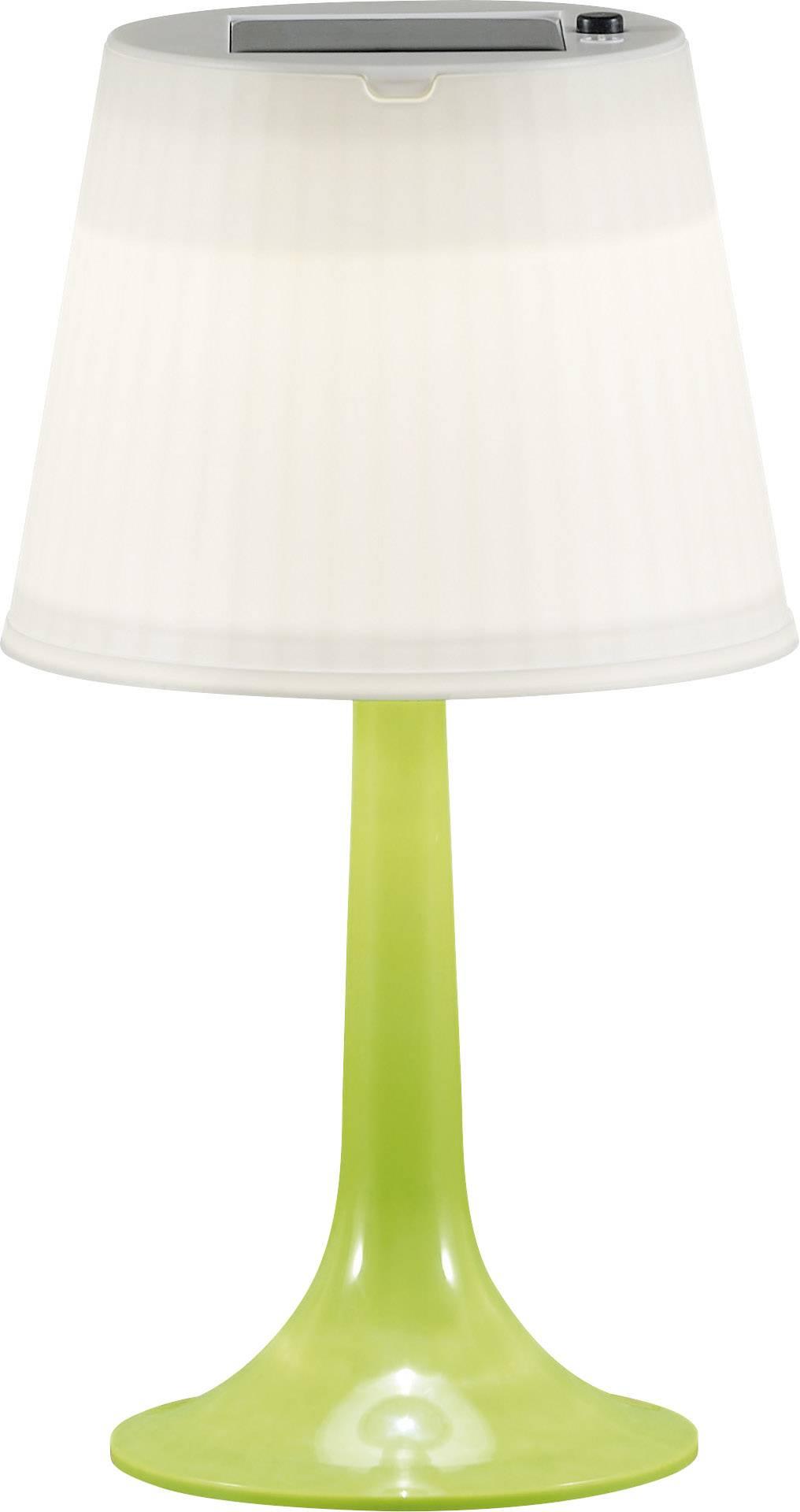Solární stolní lampa 0.5 W neutrálně bílá Konstsmide Assis Sitra 7109-602 zelená