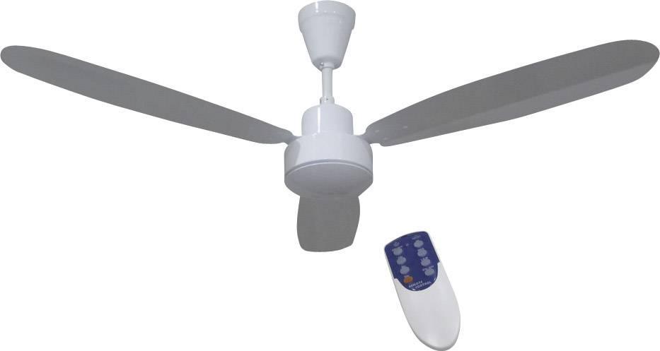 Stropný ventilátor Phaesun CF-RC 12V, (Ø) 132 cm, biela