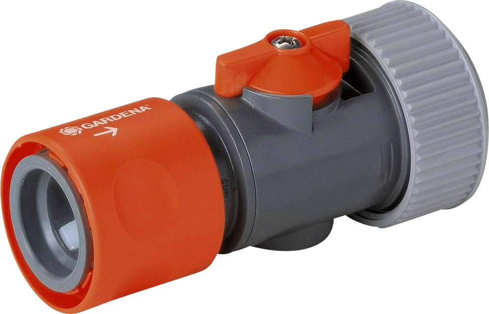 """Stopspojka s regulačním ventilem Gardena 19 mm (3/4 """")"""