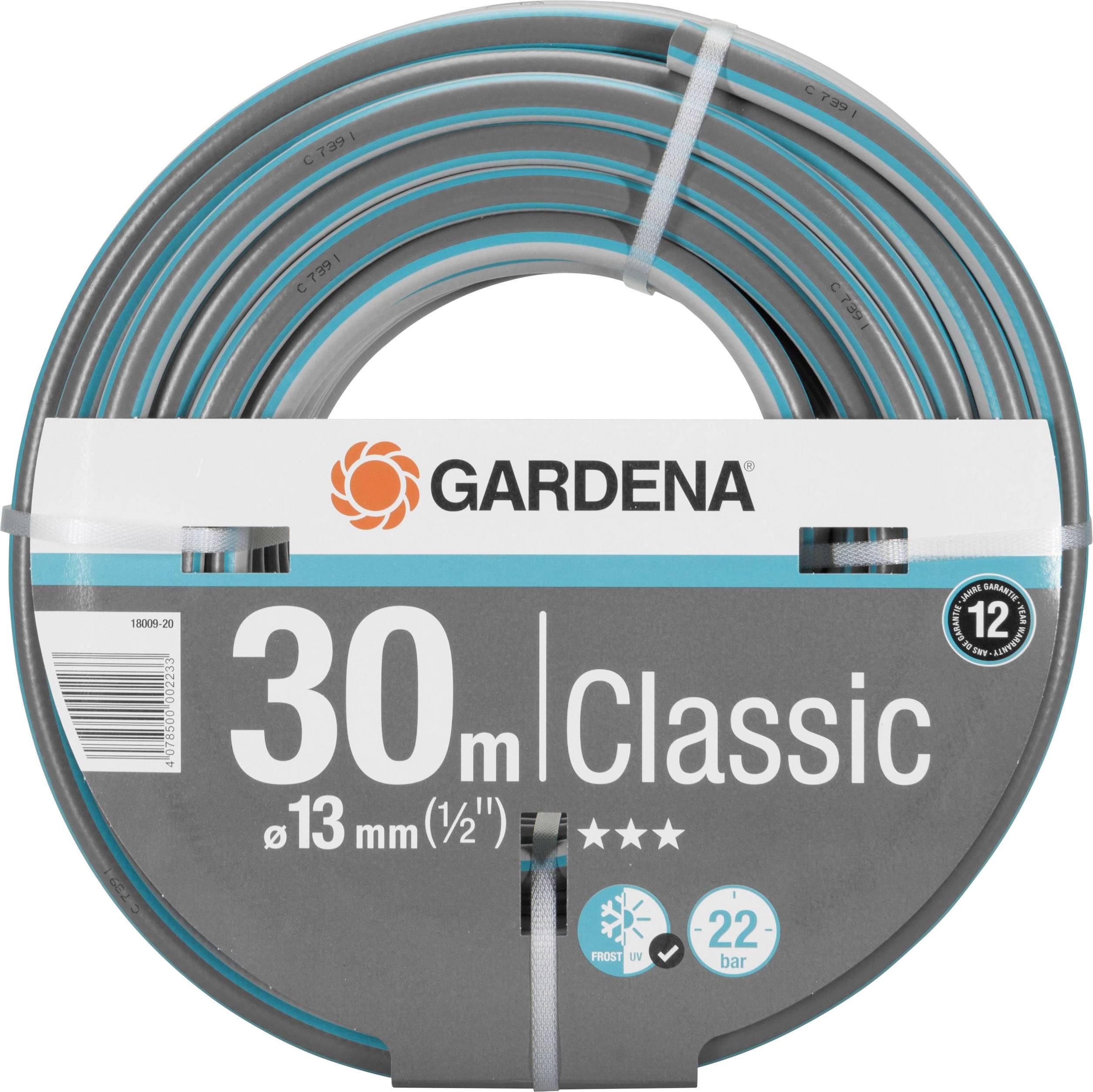 """Záhradná hadica GARDENA 18009-20, 1/2 """", 30 m, sivá, oranžová"""