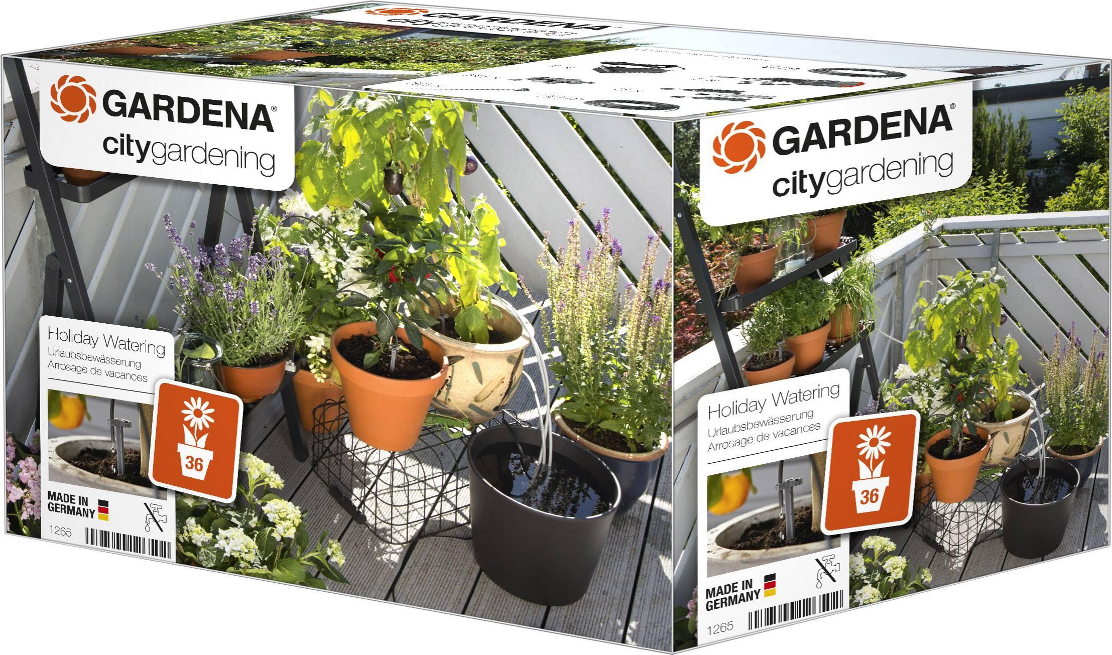 Zavlažovací systém pri dlhodobej neprítomnosti GARDENA city gardening, ohne Behälter 1265-20