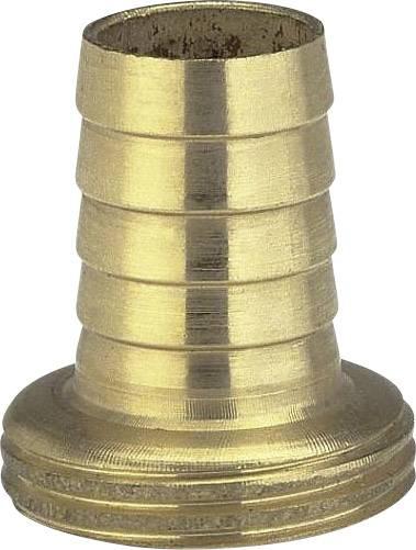 """Jednodílné mosazné šroubení Gardena, závit 26,5 mm (G 3/4), hadice 19 mm (3/4 """")"""