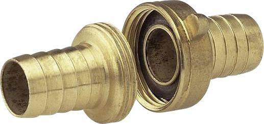 """Trojdílné mosazné šroubení Gardena, závit 26,5 mm (G 3/4), hadice 13 mm (1/2 """")"""