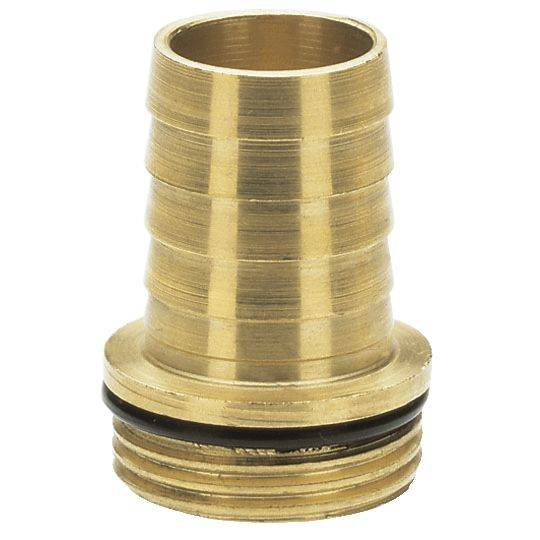 """Mosazná spojka Gardena, 33,3mm (G 1) závit, 25mm (1"""") hadice"""
