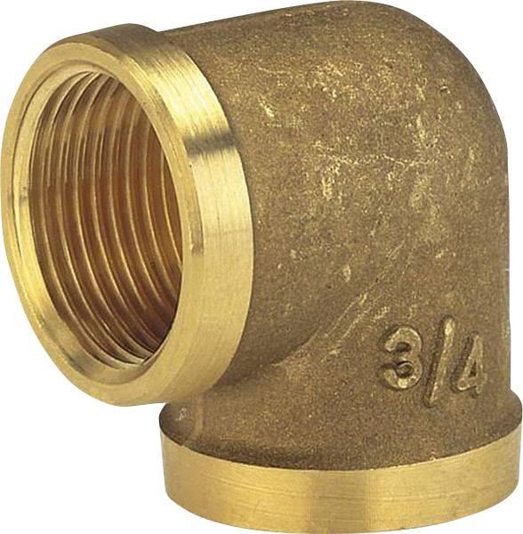 Mosazné koleno Gardena s 42mm (G 1 1/4) vnitřním závitem