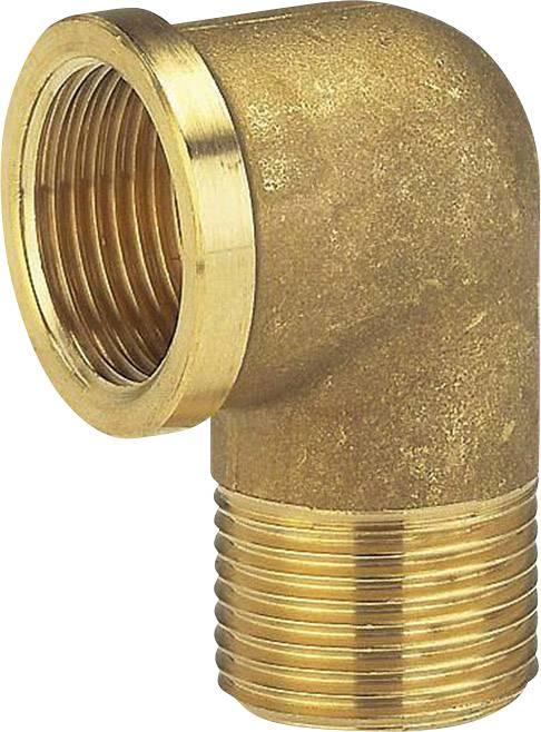 Mosazné koleno Gardena s vnitřním a vnějším 42mm (G 1 1/4) závitem