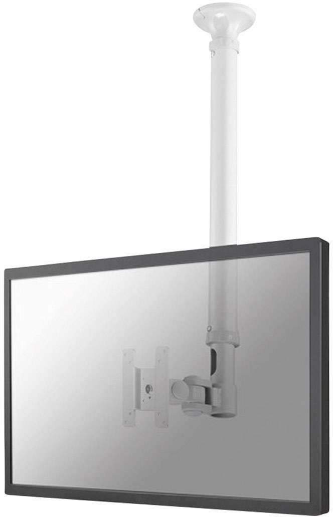 """Stropný držiak na monitor NewStar FPMA-C100WHITE, 25,4 cm (10"""") - 76,2 cm (30""""), biela"""