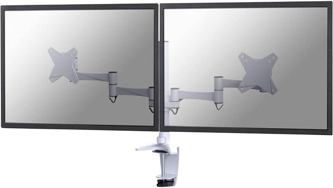"""Stolový držiak monitoru NewStar Products FPMA-D1330DWHITE, 25,4 cm (10"""") - 68,6 cm (27""""), biela"""