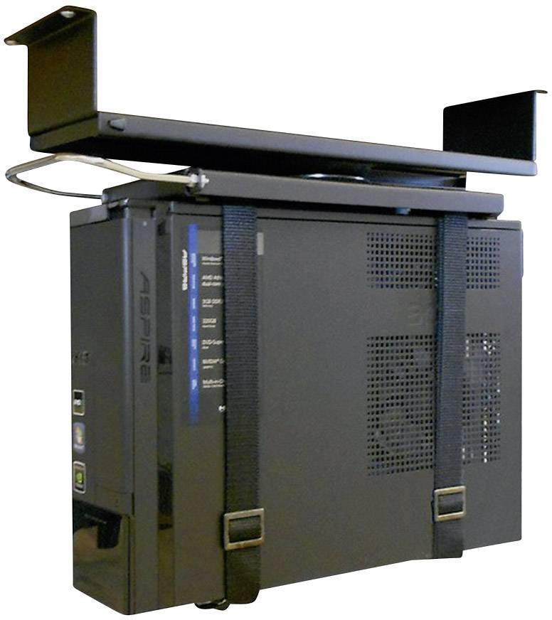 Držiak na PC, NewStar Products CPU-D050BLACK, nosnosť 20 kg, čierny