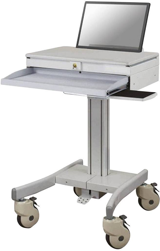 PC/notebook stolek, NewStar Products MED-M100, vhodný pro lékařské účely