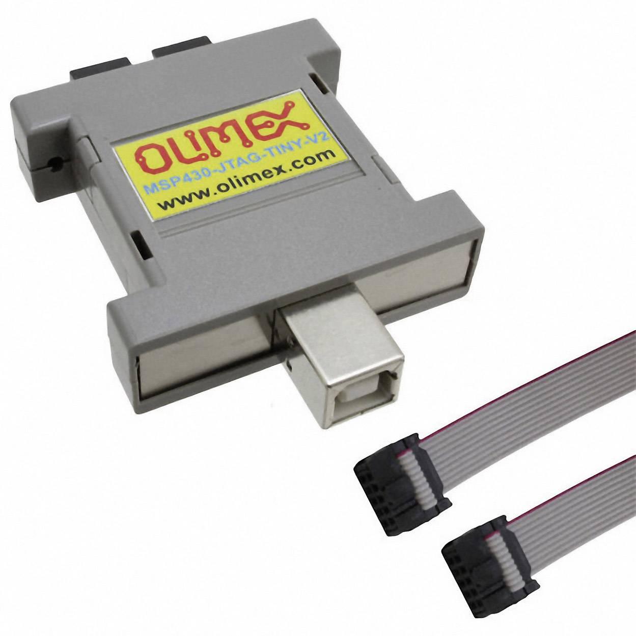 Programovací adaptér Olimex MSP430-JTAG-TINY-V2