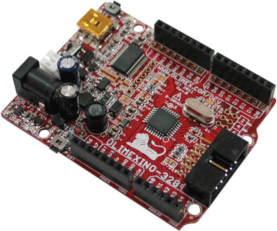 Vývojová doska ATmega 328 Olimex OLIMEXINO-328