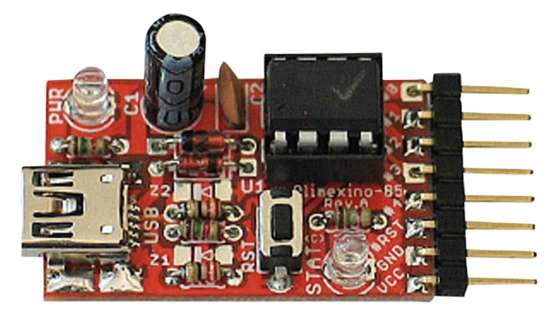 Vývojová doska Olimex OLIMEXINO-85-ASM
