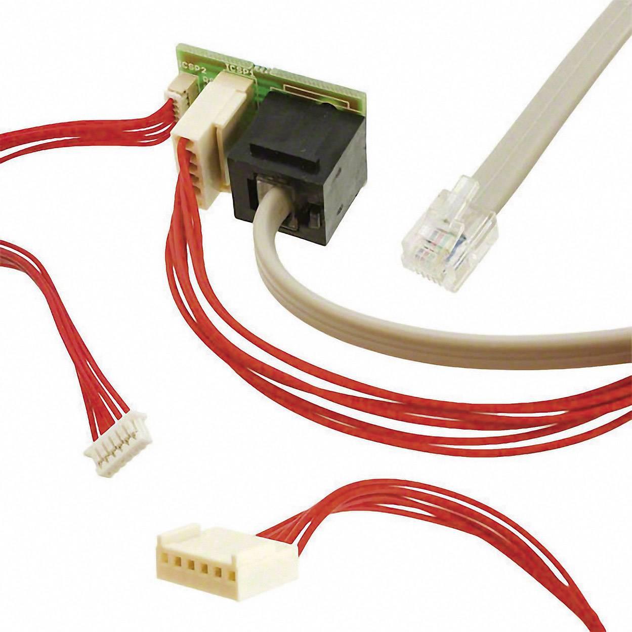 Vývojová doska Y pripojenie Olimex PIC-ICSP