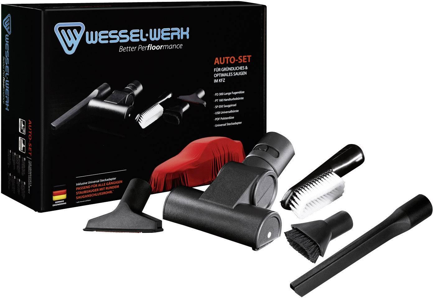 5-radová sada hubíc pre upratovanie automobilu Wessel-Werk FD300, PT160E, SP050