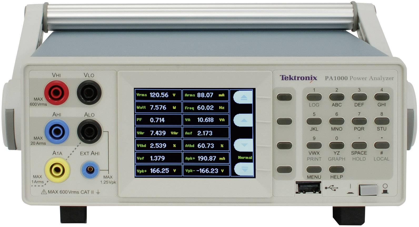 Analyzátor výkonu Tektronix PA1000