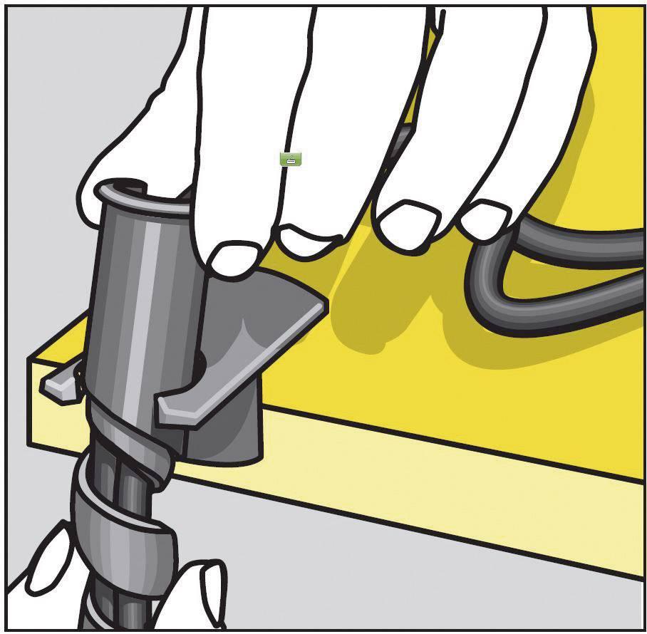 Spirálový kabel Serpa 5.04003.7042, 150 cm, světle šedá