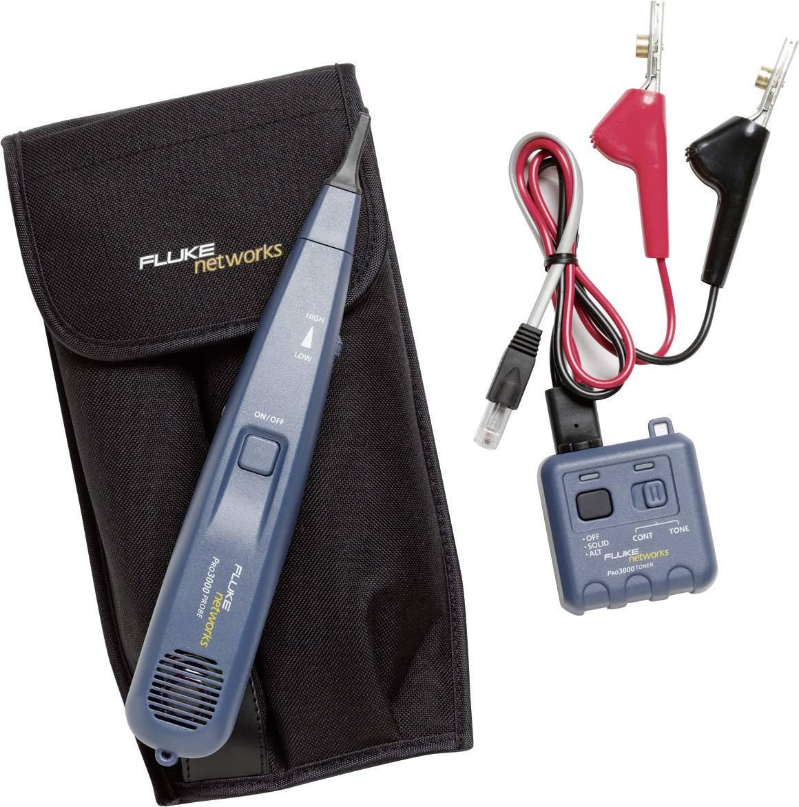 Bezdrátový detektor vedení s generátorem tónu Fluke Networks PRO3000, 26000900