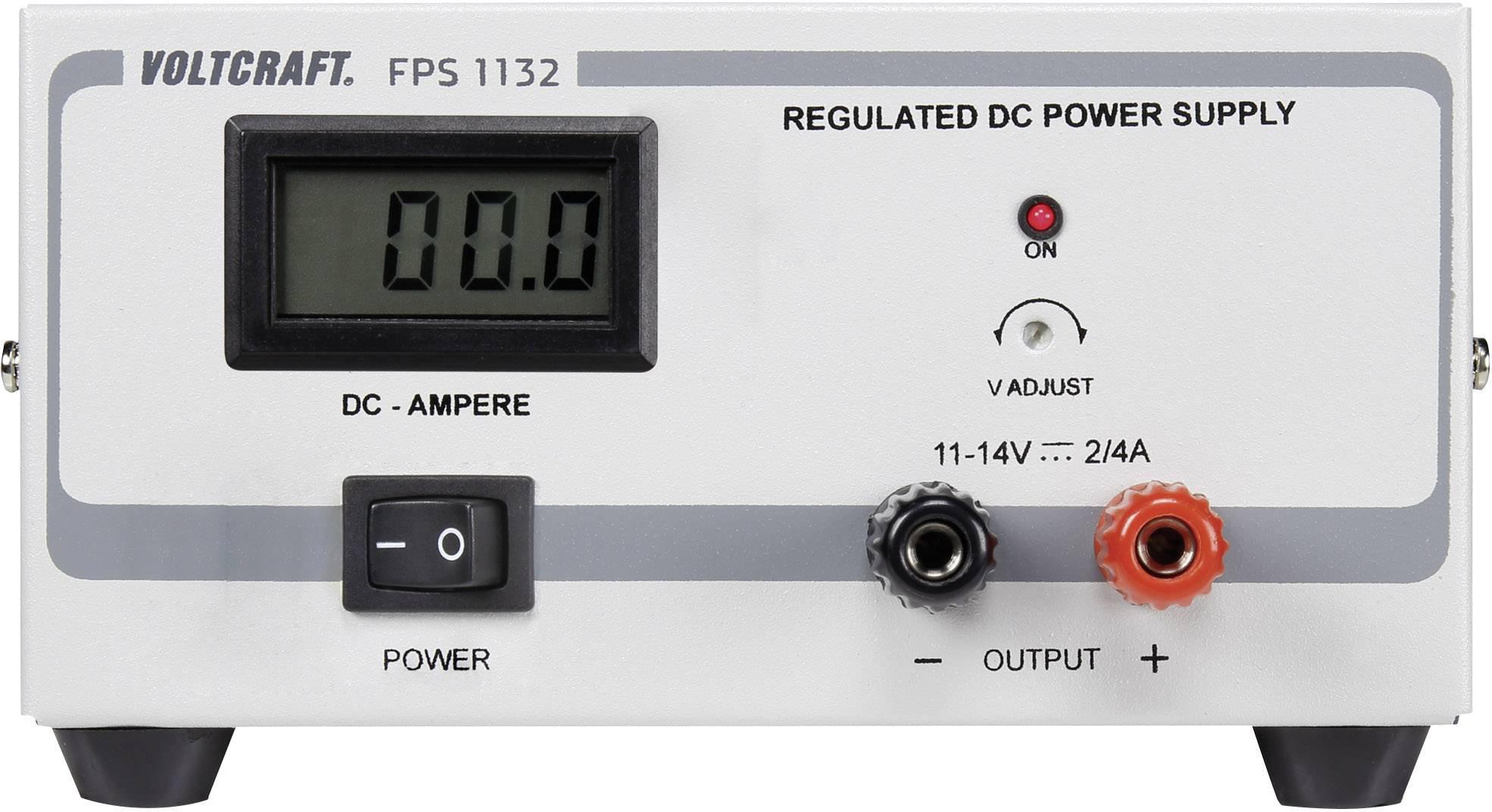 Laboratórny zdroj Voltcraft FPS-1132, 11 - 14 VDC, 2 A, 28 W