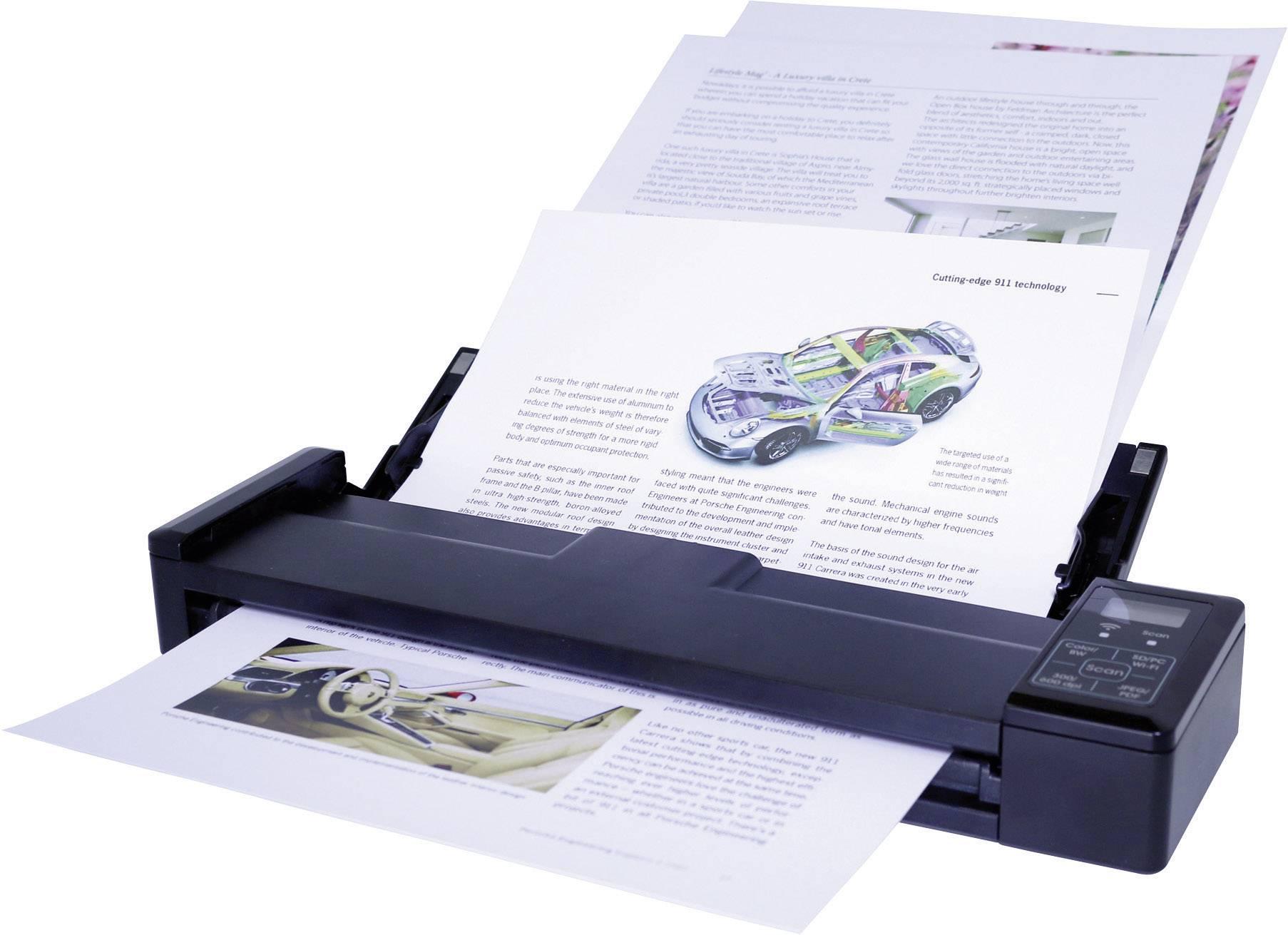 Skener dokumentů IRIS by Canon IRIScan™ Pro 3 Wifi, A4, USB, Wi-Fi 802.11 b/g/n, microSD, microSDHC