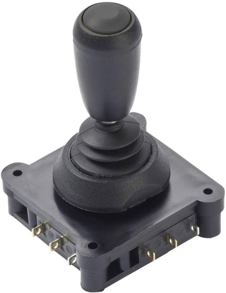 Joystick - otočný přepínač APEM 1D1-6J-15-00, kabel bez konektorů, 250 V/AC, IP67, 1 ks