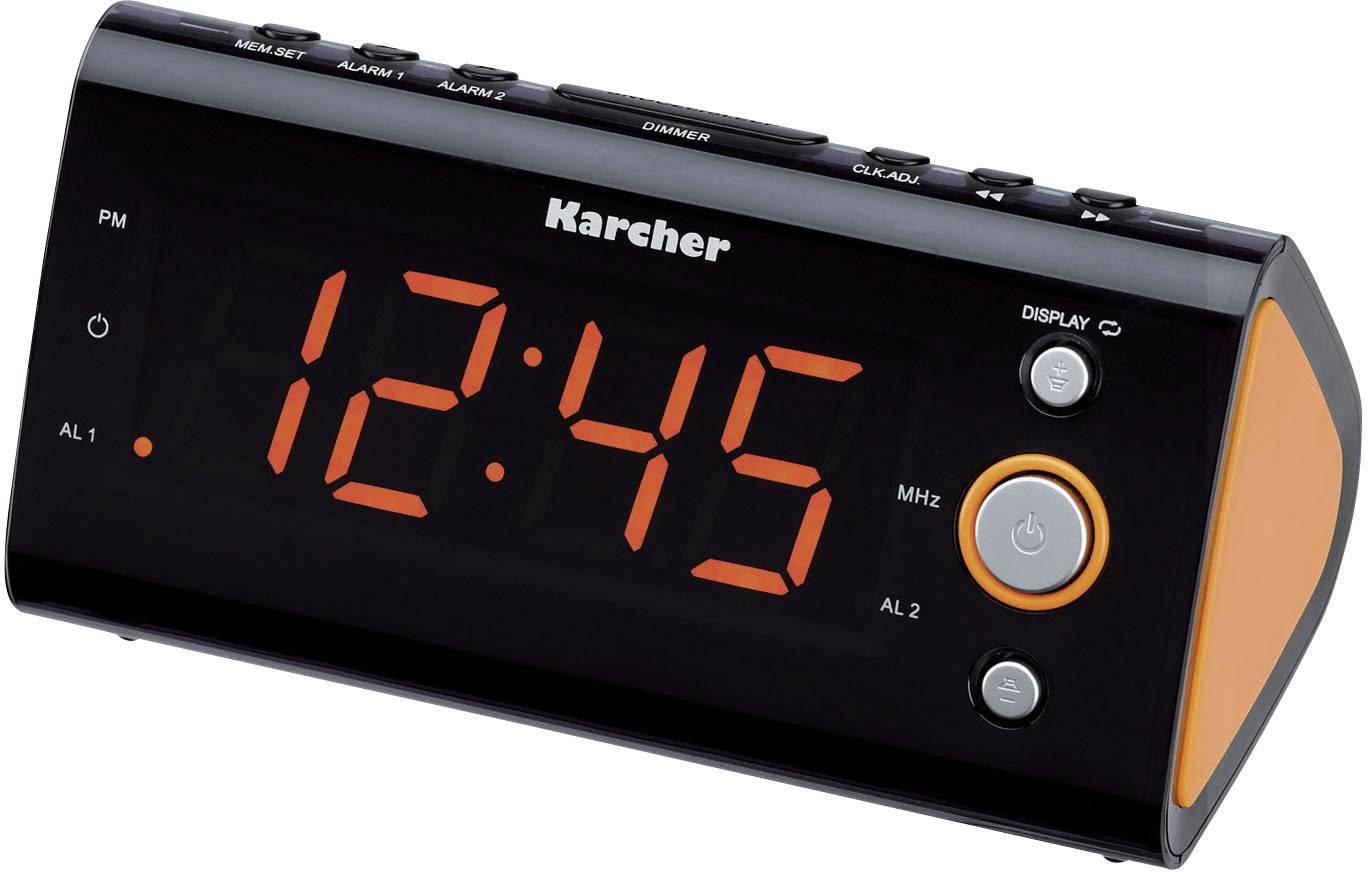 FM rádiobudík Karcher UR 1040, UKW, oranžová