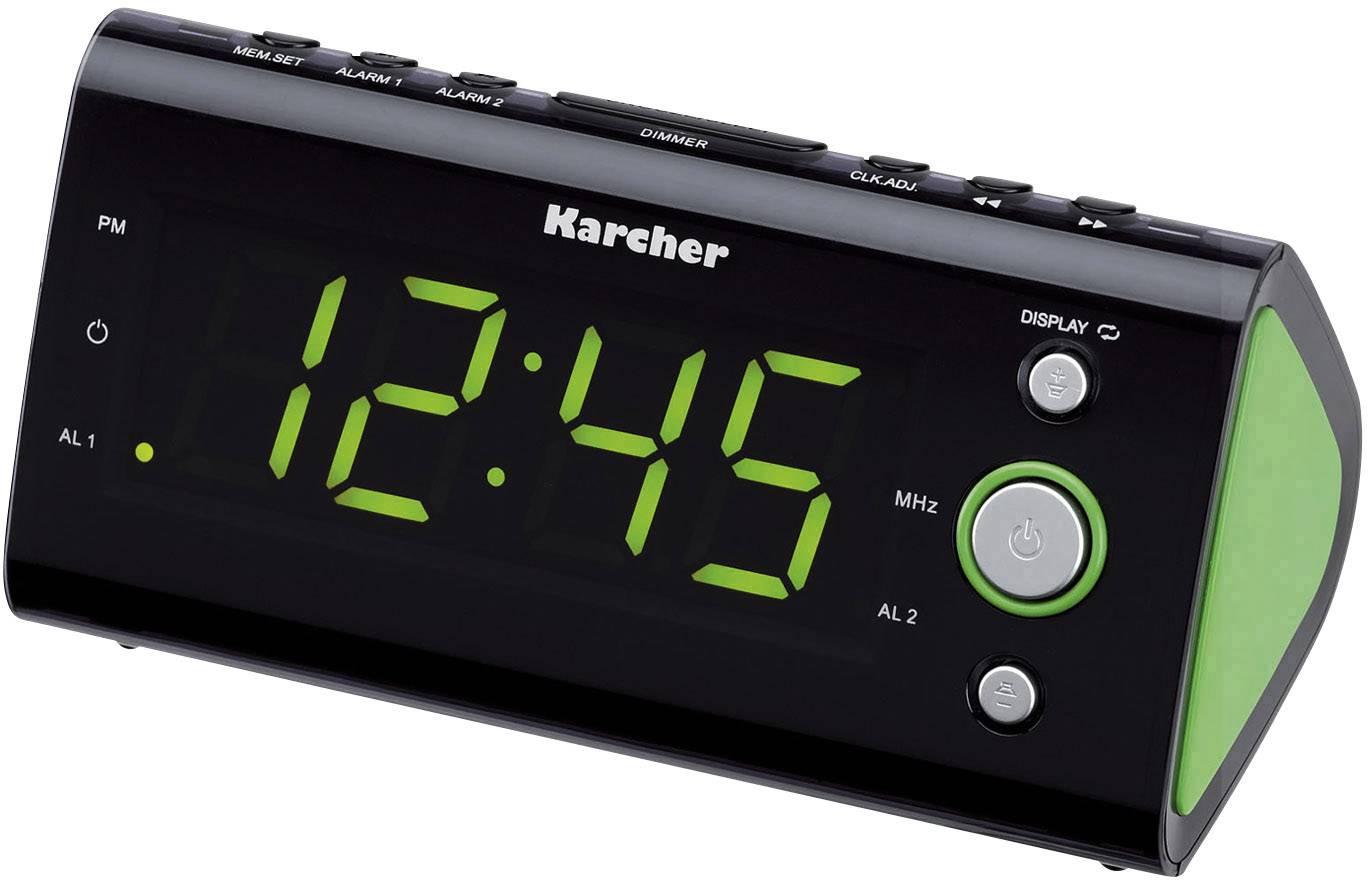 FM radiobudík Karcher UR 1040, FM, zelená