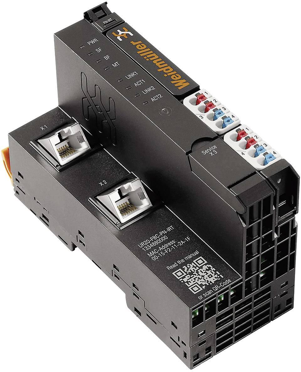 Konektor provozní sběrnice pro PLC Weidmüller UR20-FBC-PN-IRT, 1334880000