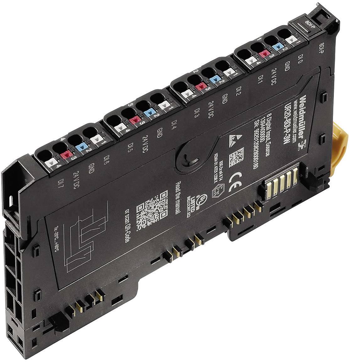 Rozšiřující modul pro PLC Weidmüller UR20-8DI-P-3W, 1394400000