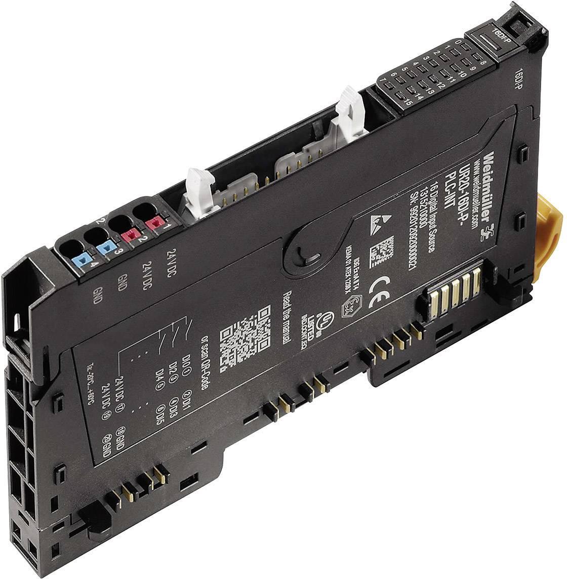 Vstupní modul pro PLC Weidmüller UR20-16DI-P-PLC-INT, 1315210000