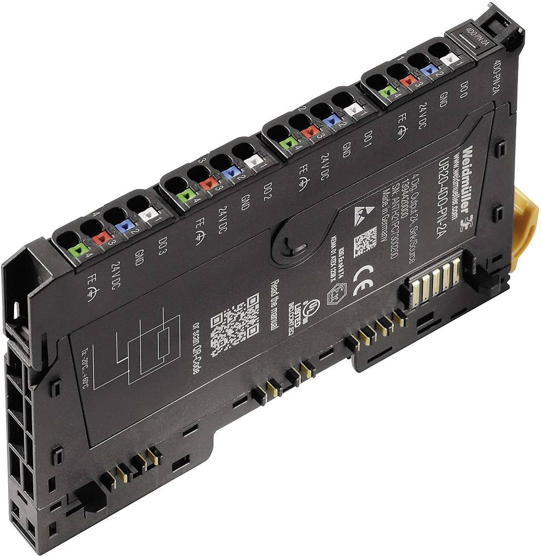 Rozšiřující modul pro PLC Weidmüller UR20-4DO-PN-2A, 1394420000