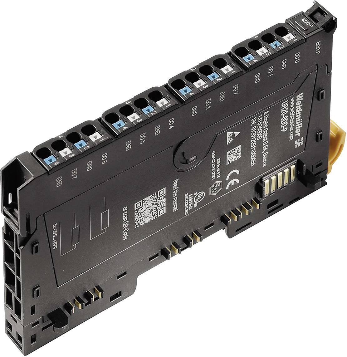 Rozšiřující modul pro PLC Weidmüller UR20-8DO-P, 1315240000