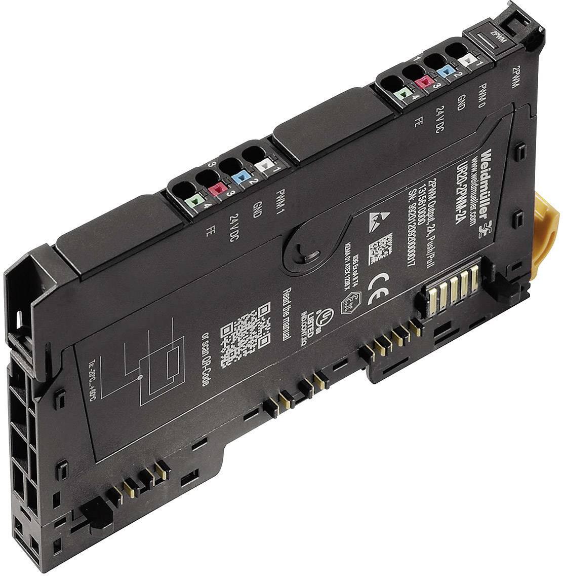 Rozšiřující modul pro PLC Weidmüller UR20-2PWM-2A, 1315610000