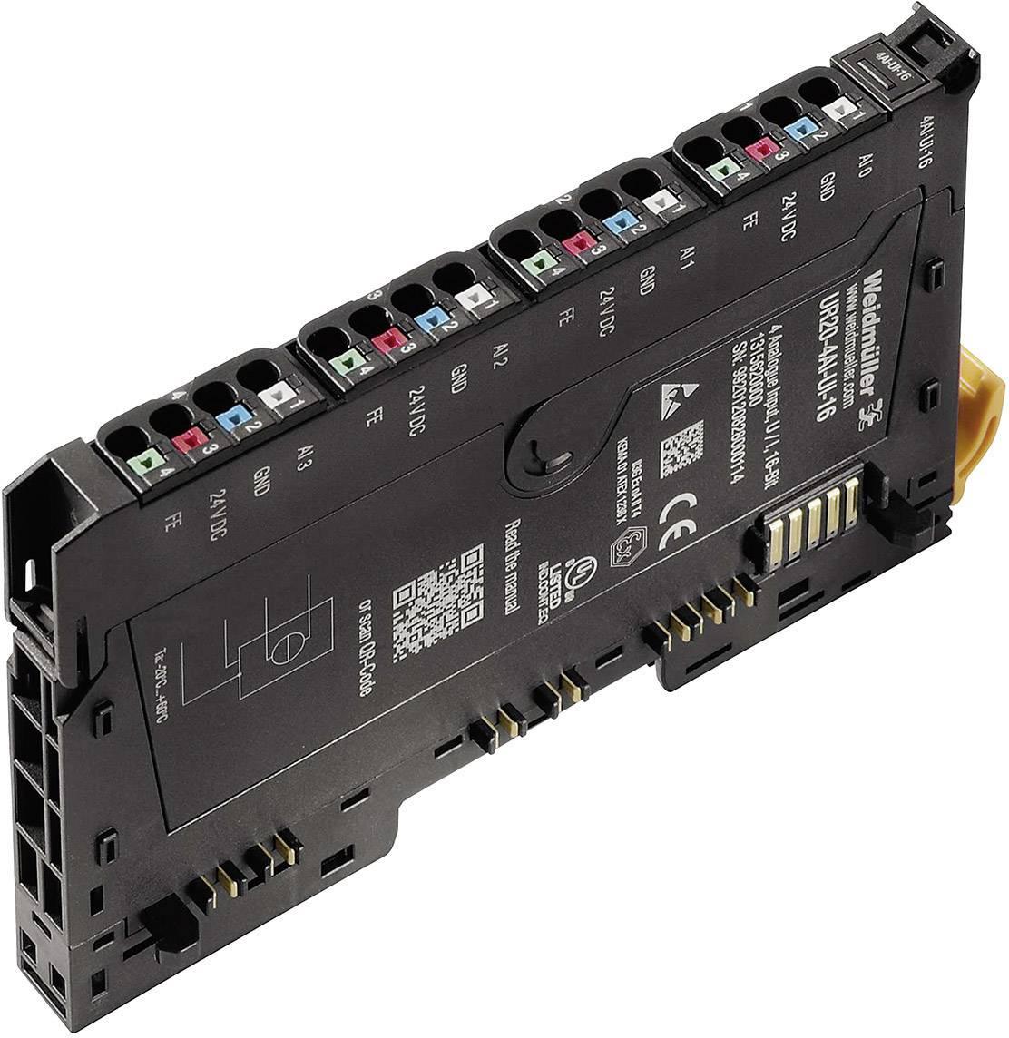 Rozšiřující modul pro PLC Weidmüller UR20-4AI-UI-16, 1315620000