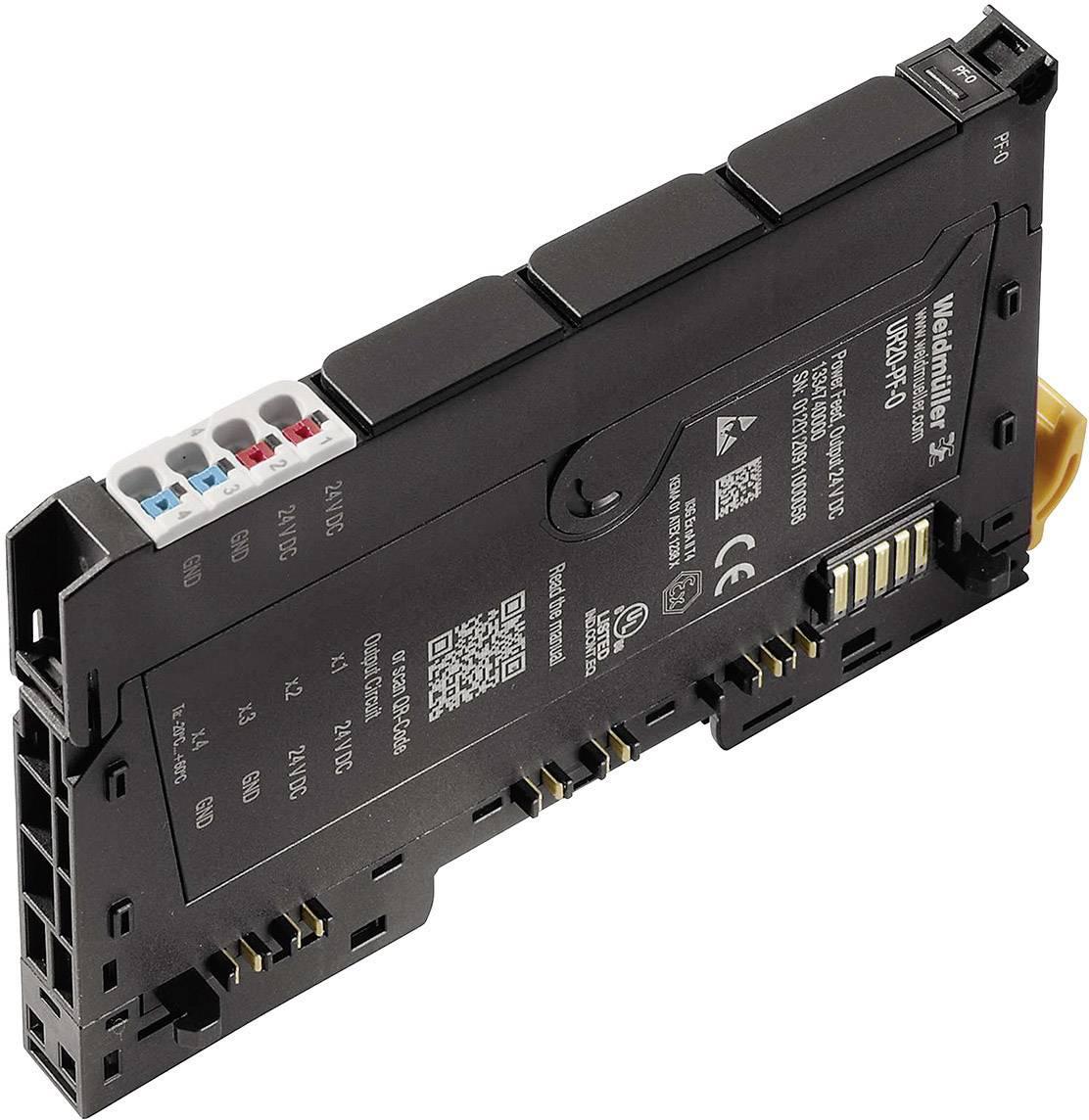 Rozšiřující modul pro PLC Weidmüller UR20-PF-O, 1334740000