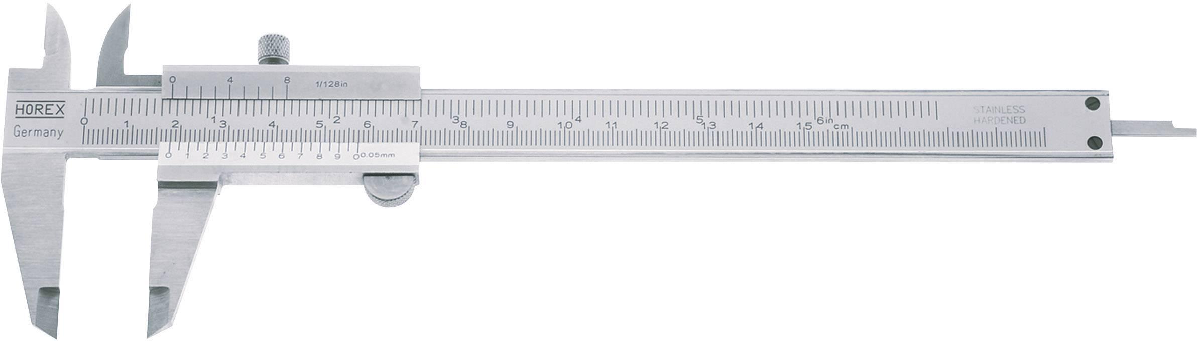 Kapesní posuvné měřítko Horex 2226510, měřicí rozsah 100 mm, Kalibrováno dle podnikový standard (bez certifikátu) (own)