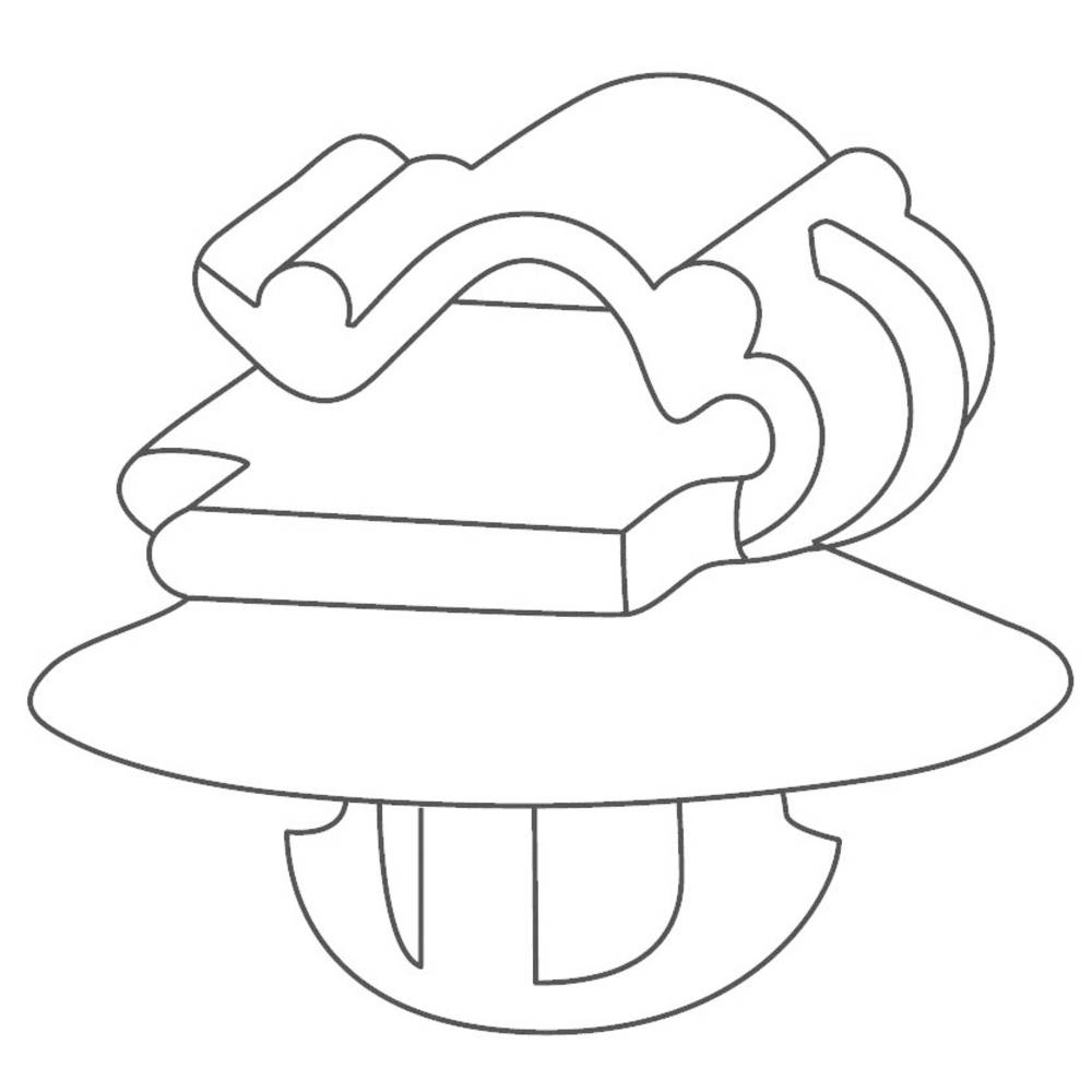 Kabelová objímka HellermannTyton KSFT6,5OC1-3 (151-00673