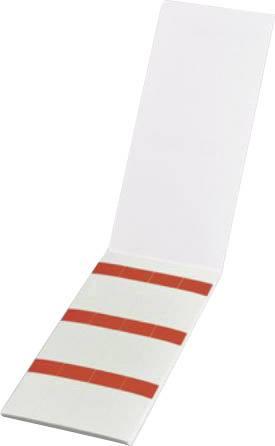 Kabelové značení HellermannTyton HSMB-C3-1402-RD, 598-31402, Helasign, 19.05 x 25.40 mm, počet štítků: 60, červená